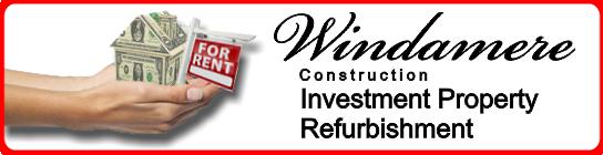 Windamere Construction Property Investment Refurbishment